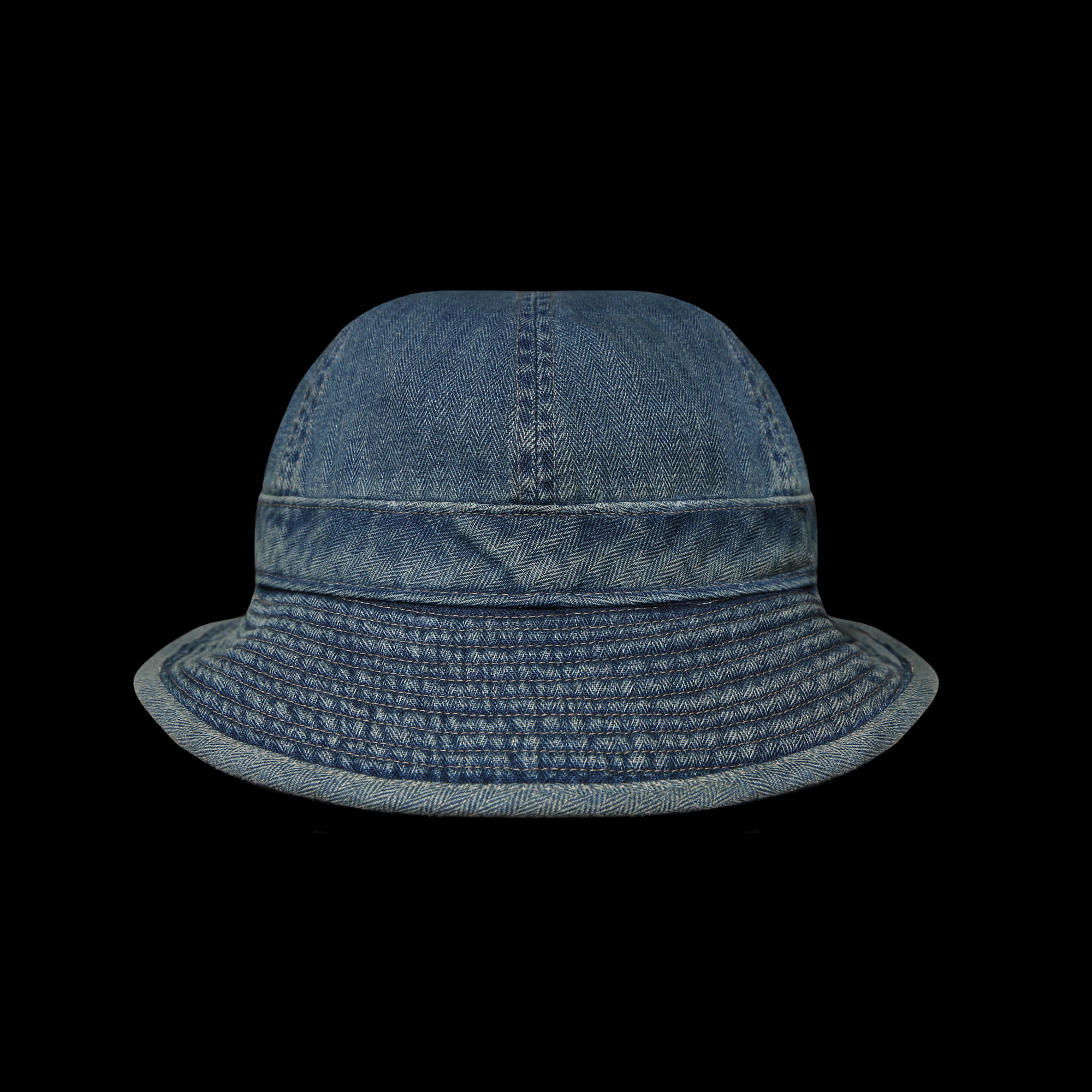 RRLMILITARY DENIM HAT
