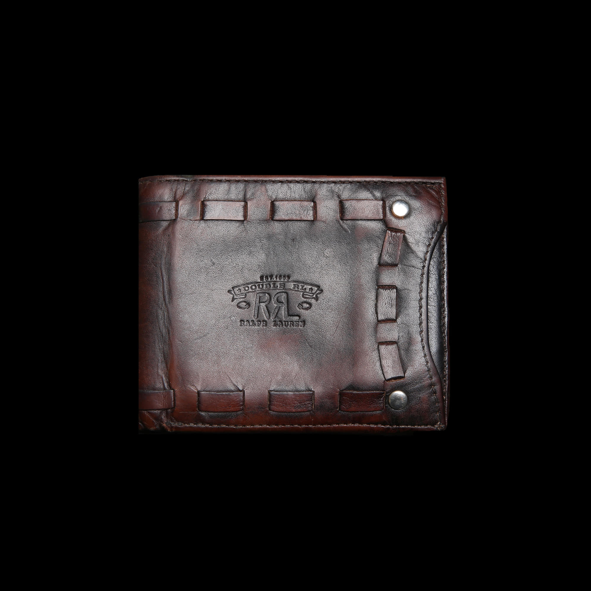 RRL LEATHER WALLET