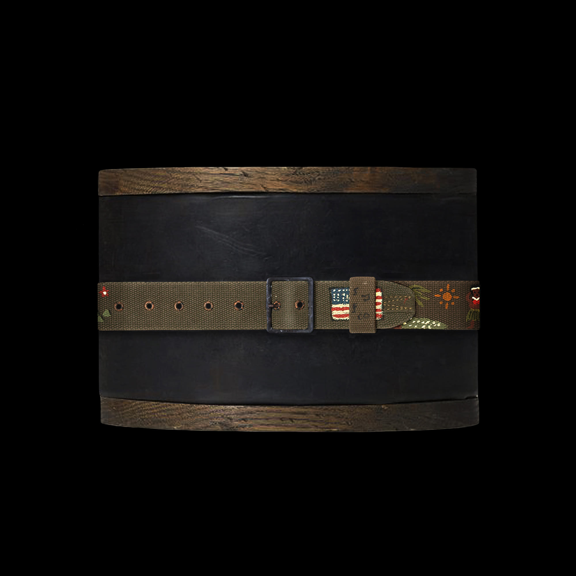 RRLMILITARY CANVAS BELT
