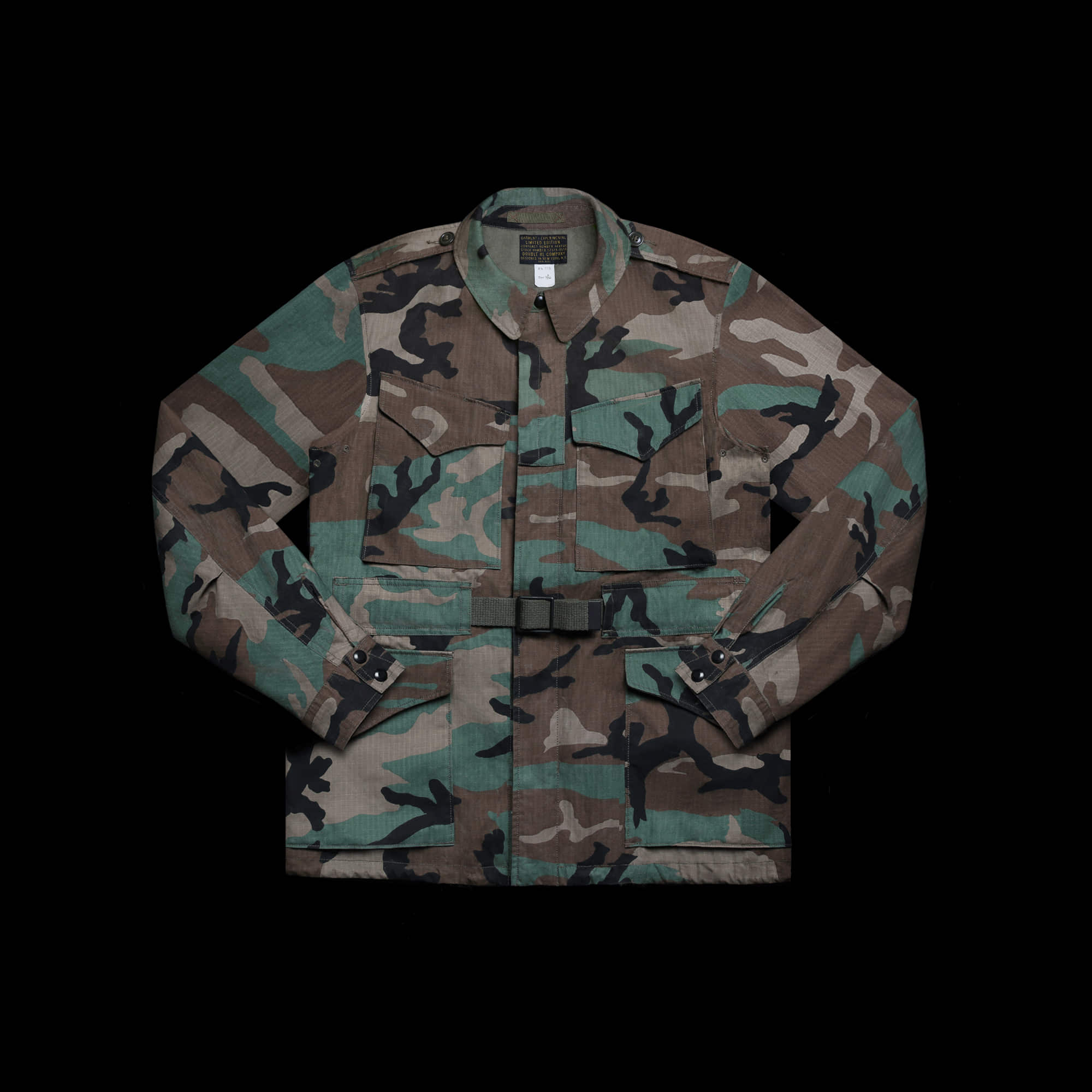 RRLLIMITED EDITIONCAMO PARATROOPERFIELD JACKET