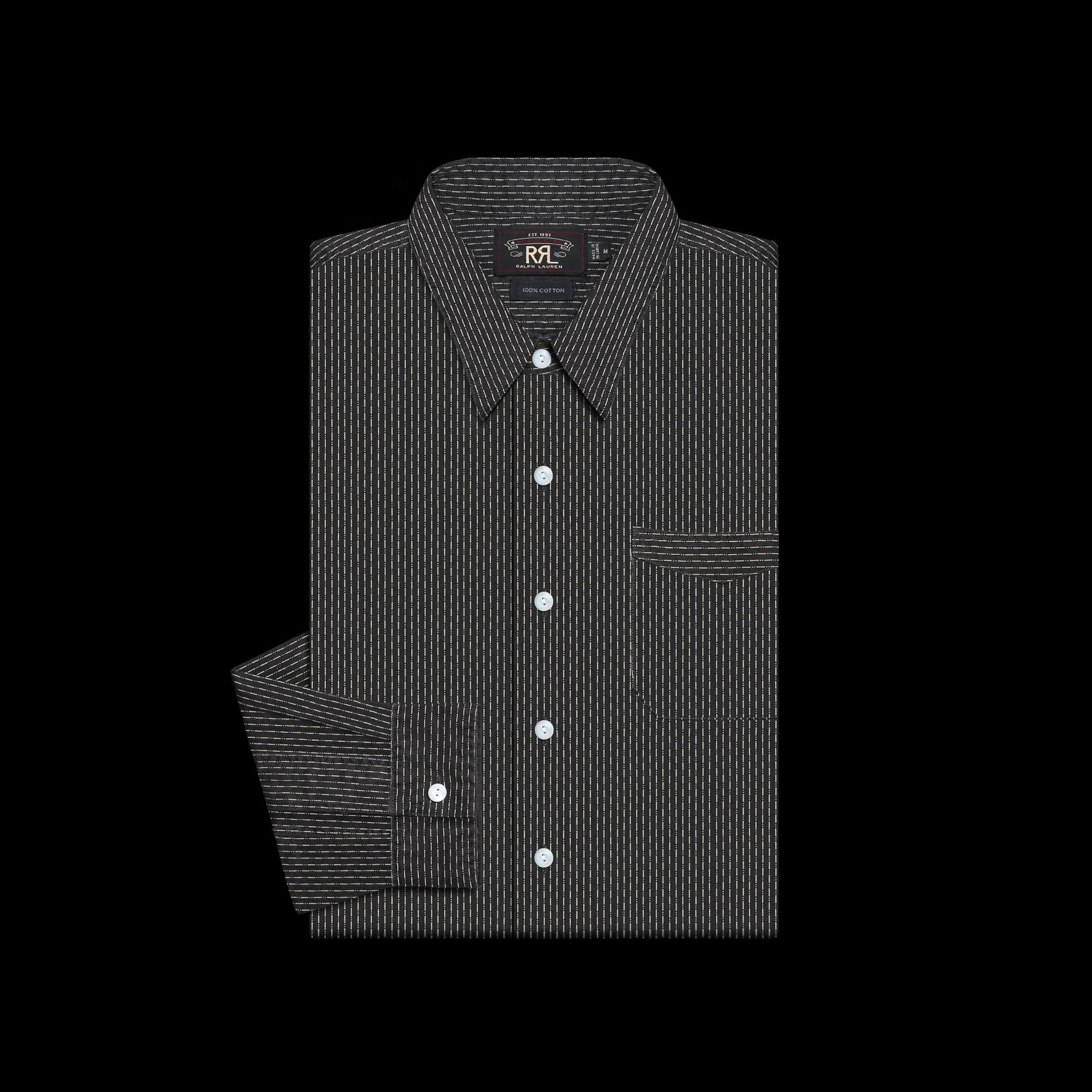 RRLCOTTON STRIPE SHIRT