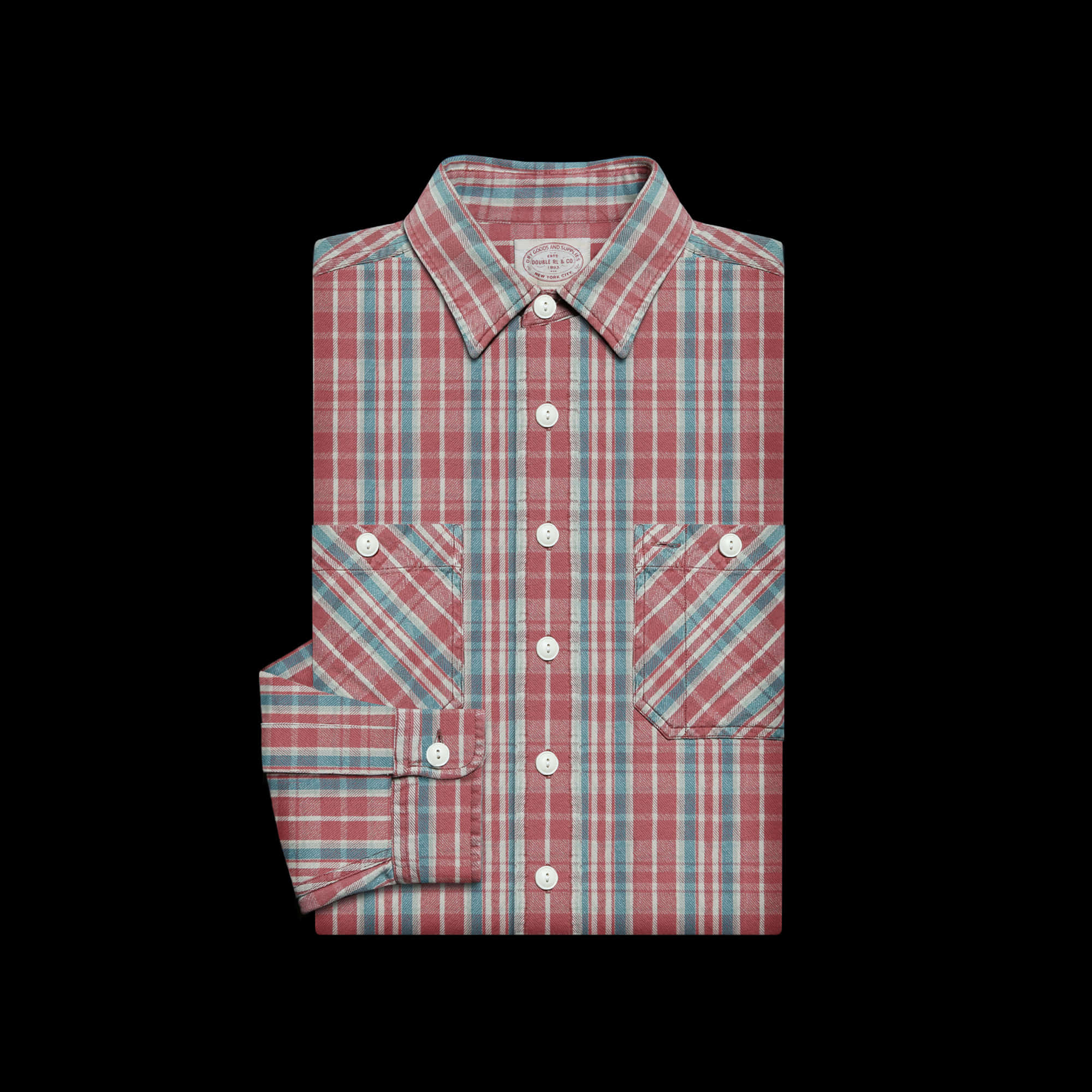 RRLCOTTON CHECK WORKSHIRT