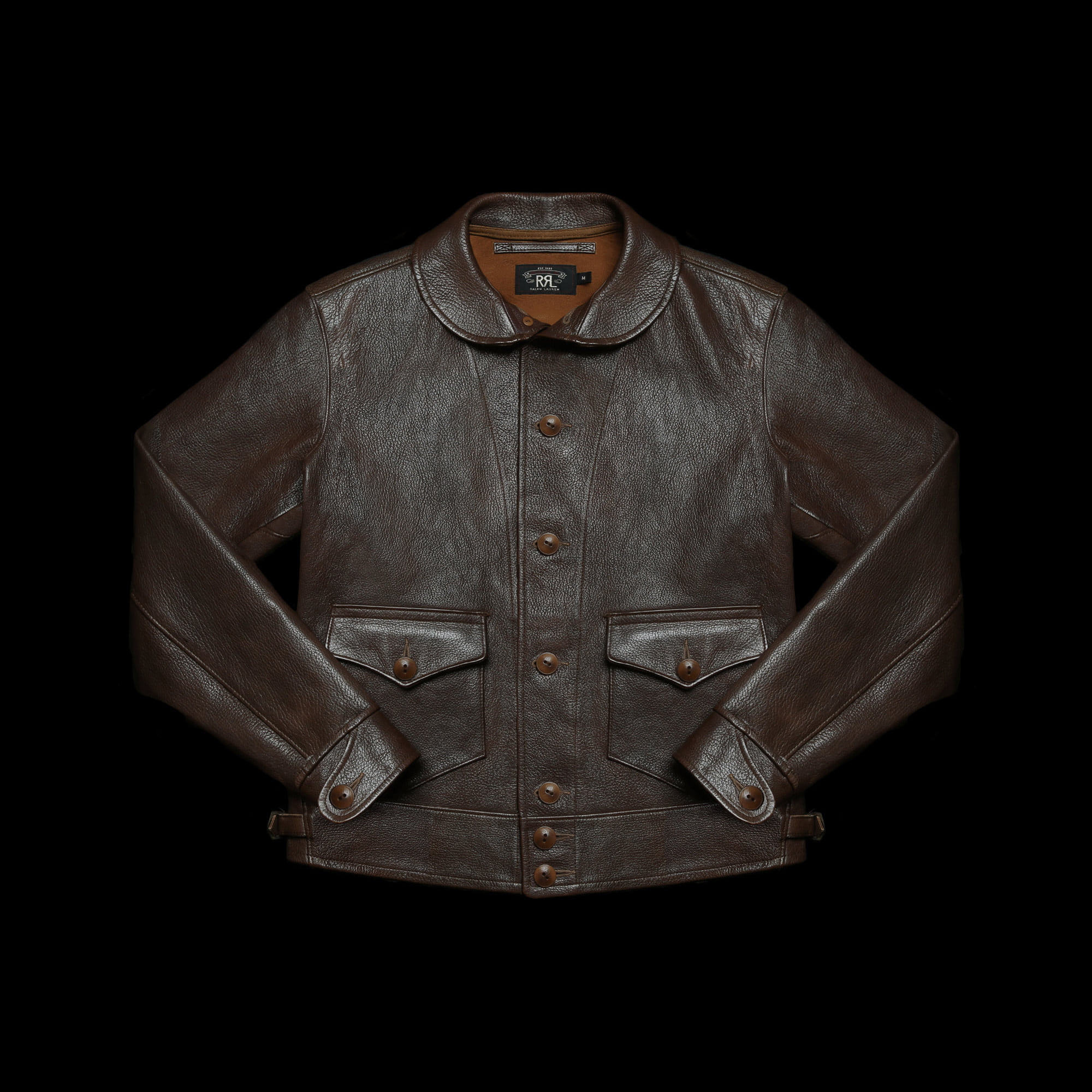 RRLWELLHOUSE LEATHERJACKET