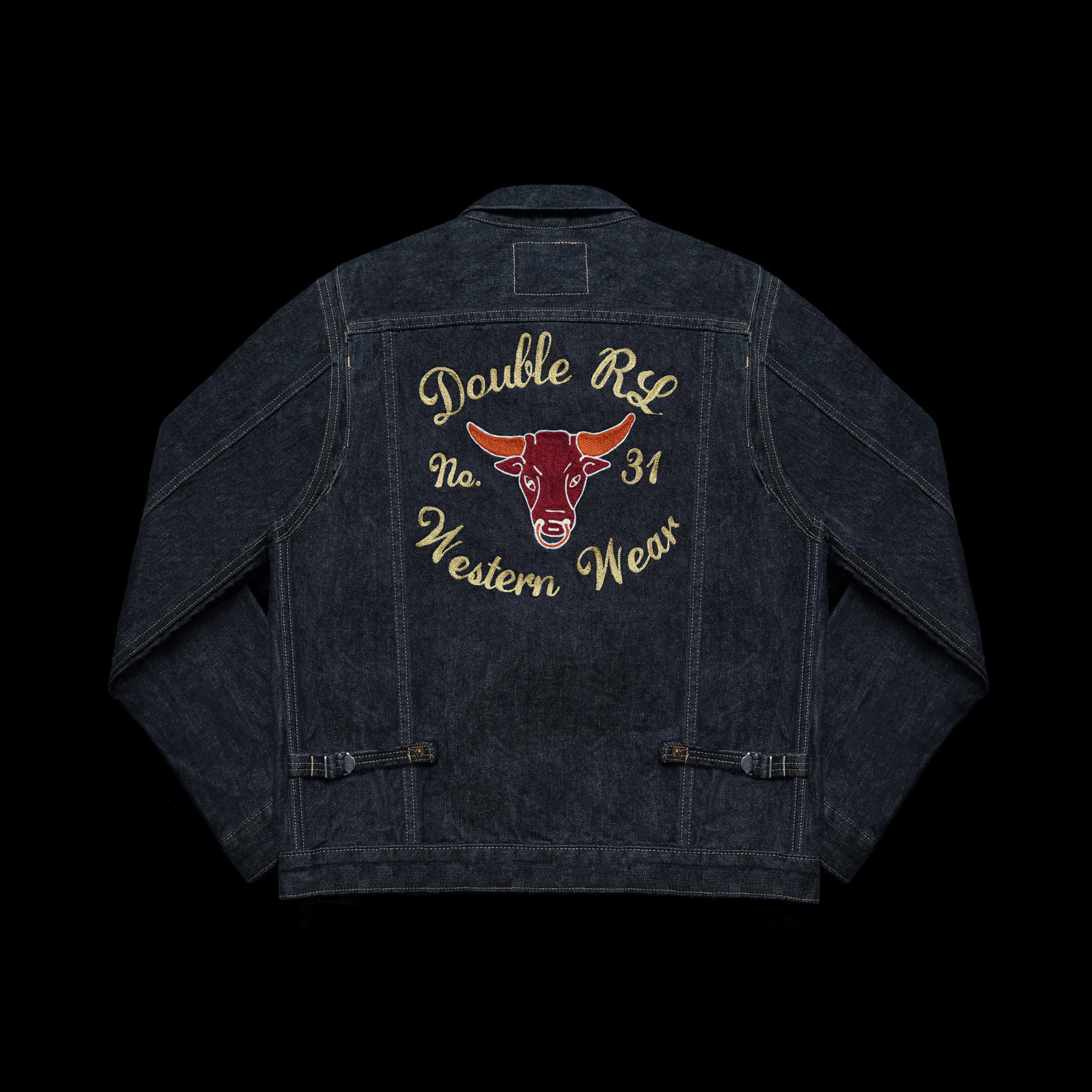 RRLLIMITED EDITIONSELVEDGE MJ11DENIM JACKET