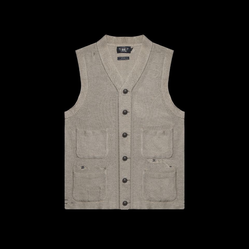 RRLEXCLUSIVE OF DECORATIONKNIT VEST