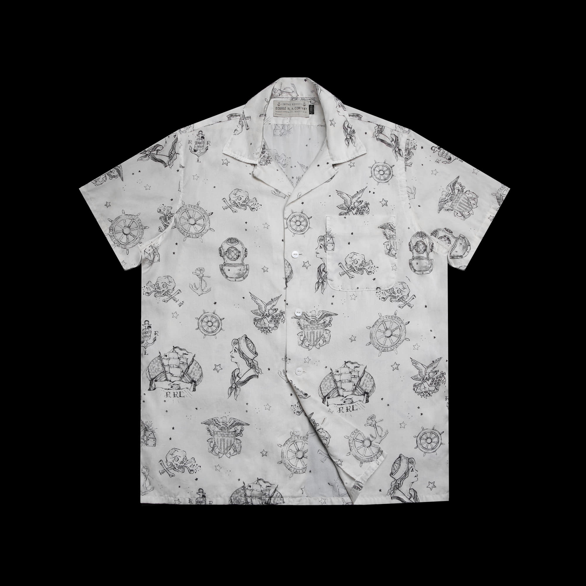 RRLLIMITED EDITIONHAWAIIAN SHIRT