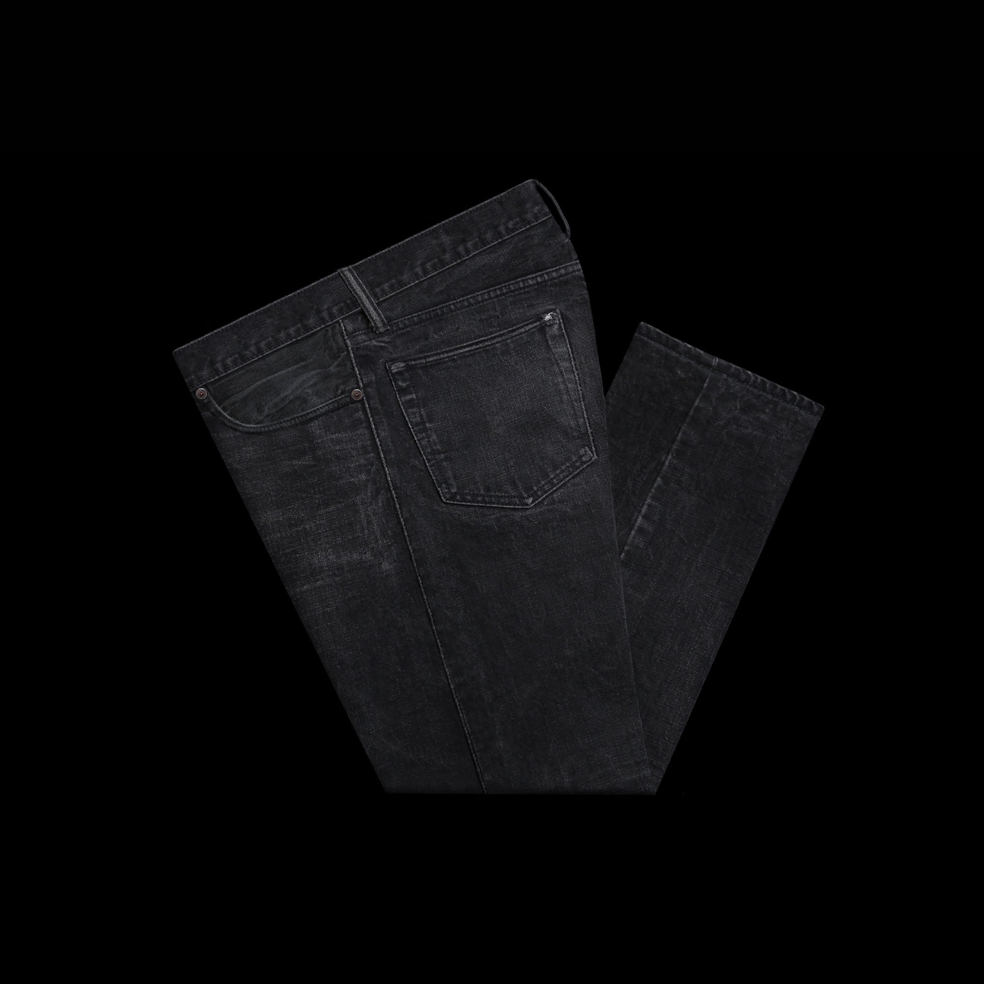 RRLSLIM FITWOVEN SELVEDGE DENIM