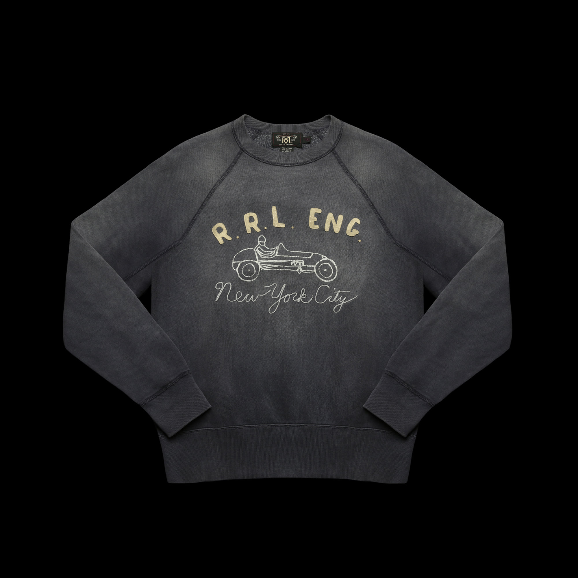 RRLCREWNECK PULLOVER