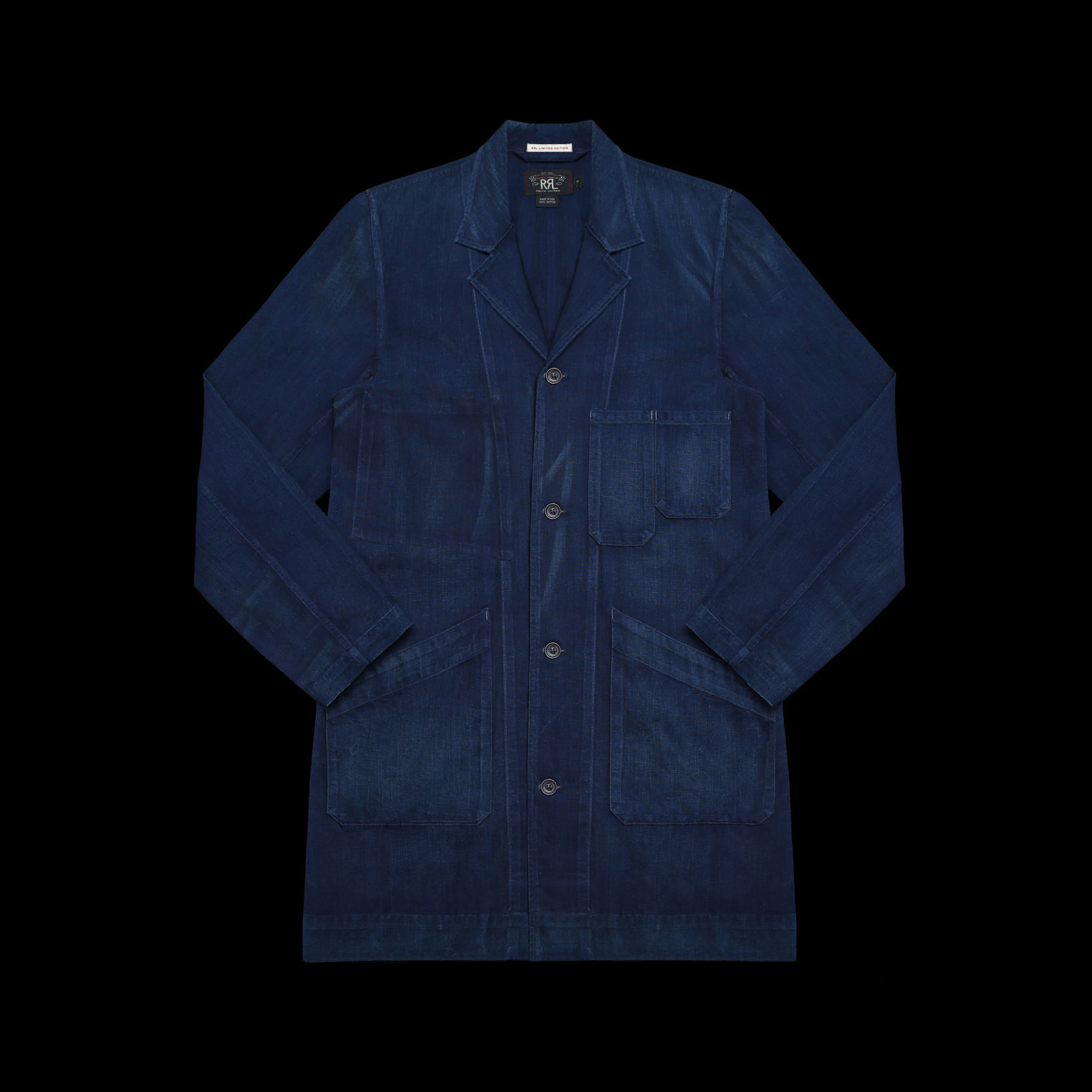 RRLLIMITED EDITIONDENIM SHOP COAT