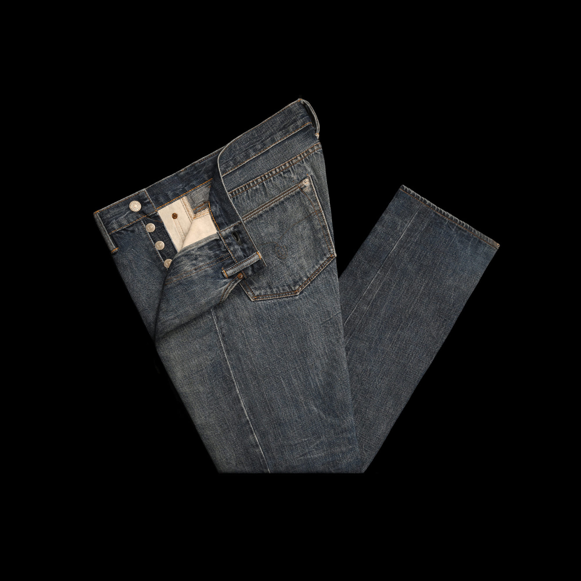 RRLCOTTON DENIM PANT