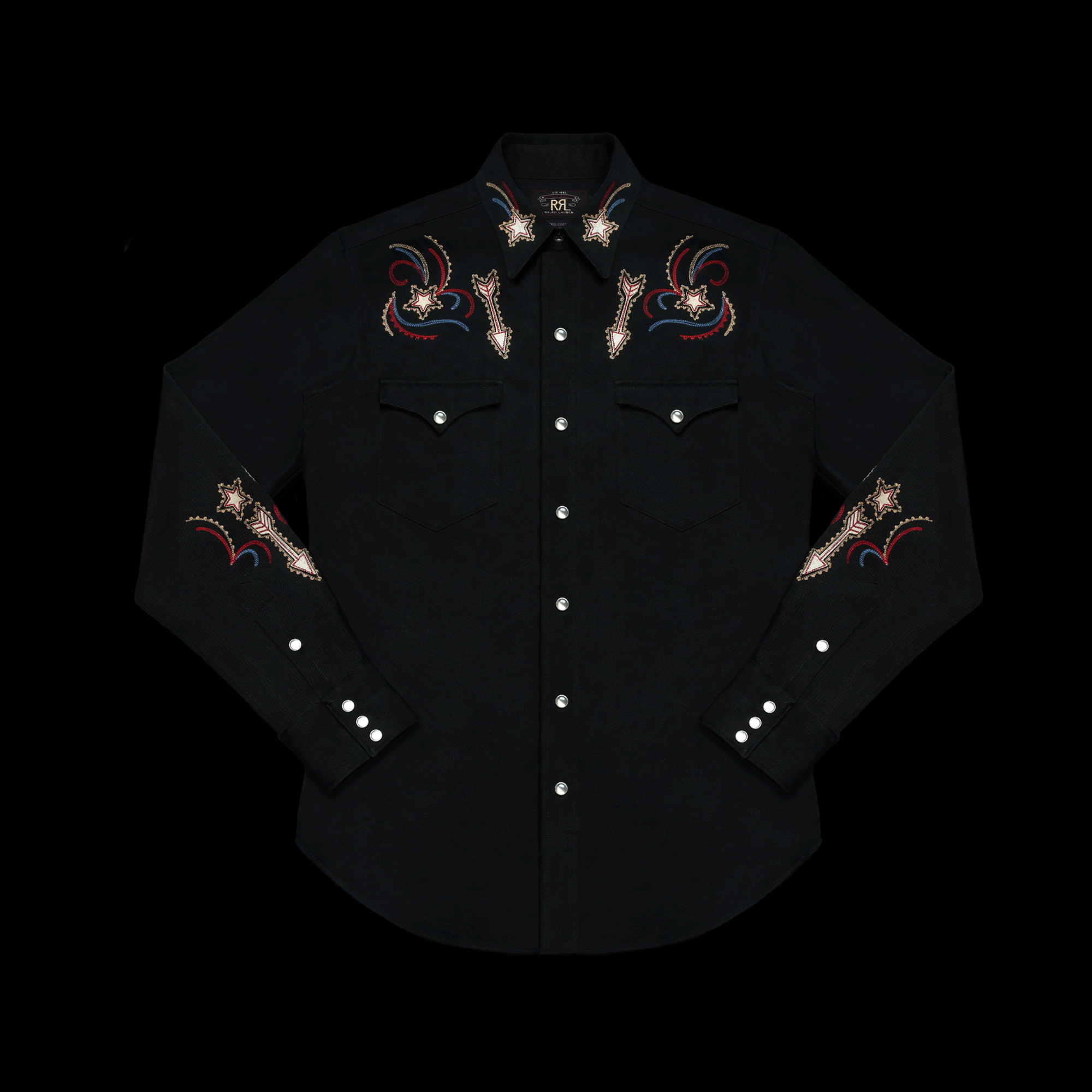 RRLEXCLUSIVE OF DECORATIONWESTERN SHIRT