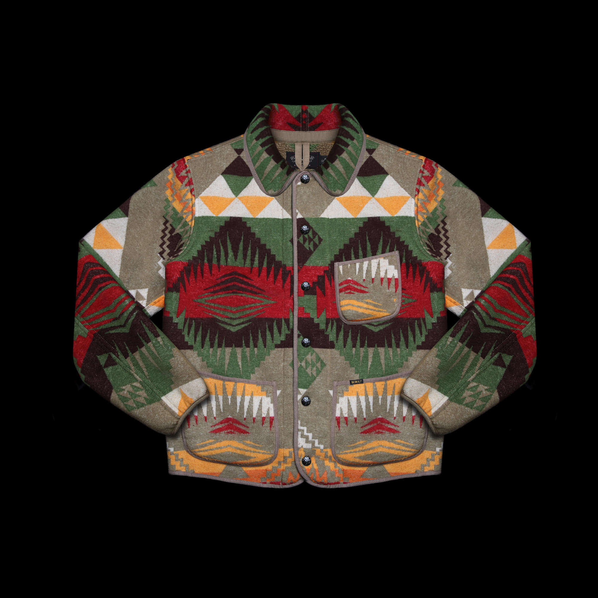 RRLCARTWRIGHT SHERPANATIVE JACKET