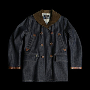 RRLCORDUROY SHAWL COLLARDENIM RANCH COAT