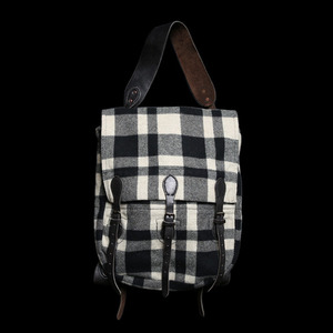 RRLBUFFALO CHECK PLAID2WAY BACKPACK