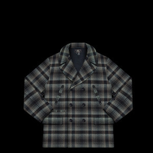 RRLWOOL PLAID CHECKEDCOAT