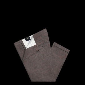 RRLWOOL CHECK TROUSER