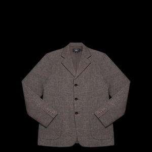 RRLWOOL CHECK JACKET