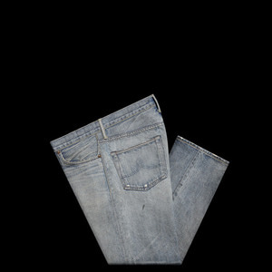 RRLSHUTTLE WOVENSELVEDGE DENIM