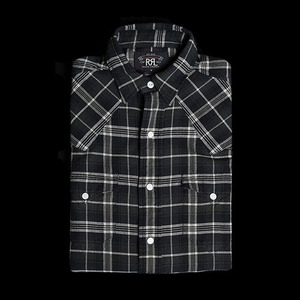 RRLWESTERN CHECK SHIRT