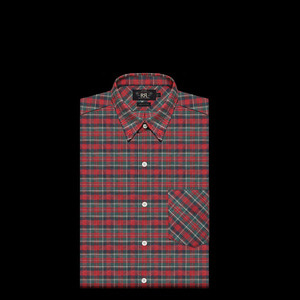 RRLCHECKED COTTON SHIRT