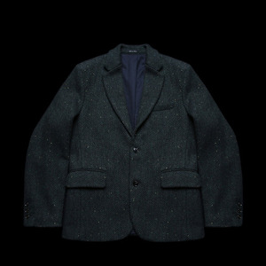 RRLWOOL TWEED HERRINGBONECLASSIC JACKET