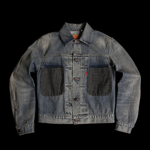 LEVISBIG POCKET STONE WASHTRUCKER JACKET
