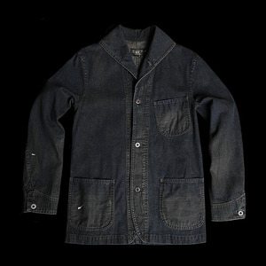 RRLCOVERALLS DENIM JACKET