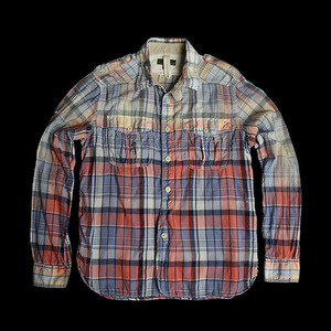 NIGEL CABOURNMADRAS CHECK SHIRT