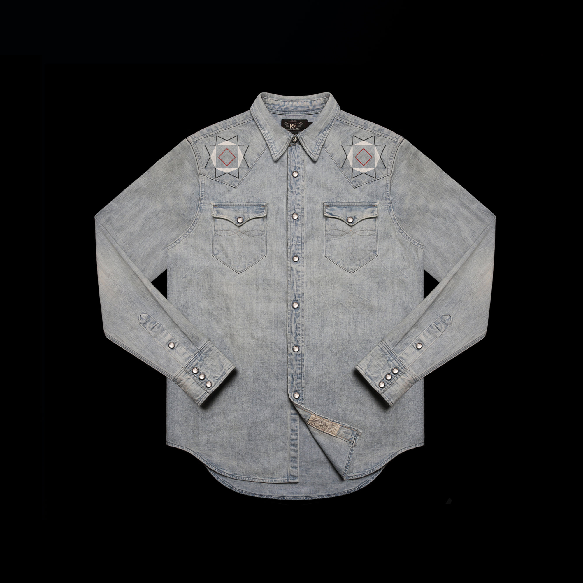 RRLHAND PAINTED WESTERN  SHIRT